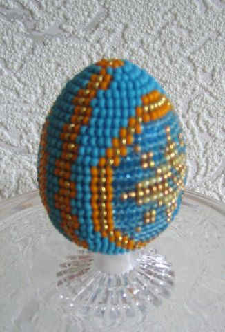 Beaded Easter Eggs | Bead jewelry making