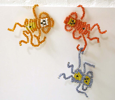 ornament craft: beaded toys and gifts